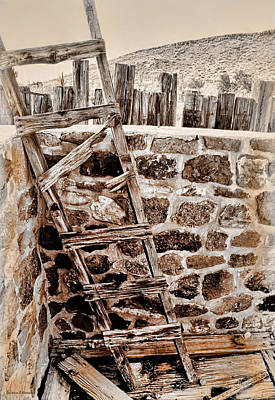 Access Denied Art Print by Barbara D Richards