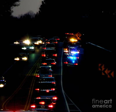 Photograph - Accident On The Side Of The Road by Renee Trenholm