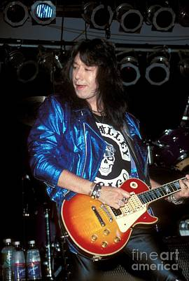 Ace Frehley Photograph - Ace Frehley by Concert Photos