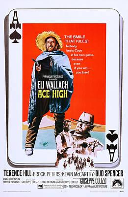 Ace High, Us Poster Art, From Left Eli Art Print by Everett