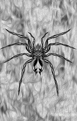 Painting - Aced Spider by Gregory Dyer