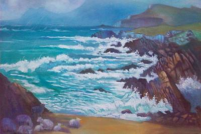 Painting - Achill Ireland by Paul Weerasekera