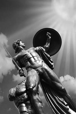 Hyde Park Photograph - Achilles by Mark Rogan