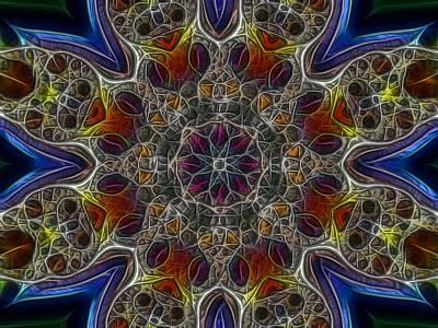Digital Art - Acid Rock 1 by Larry Capra