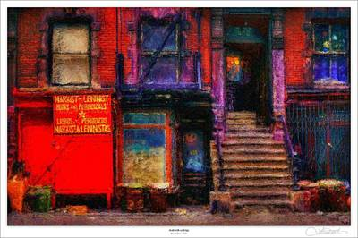 Marx Digital Art - Acid With An Edge by Lar Matre