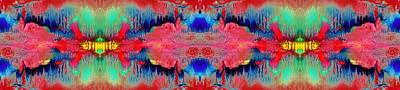 Acidic River Art Print