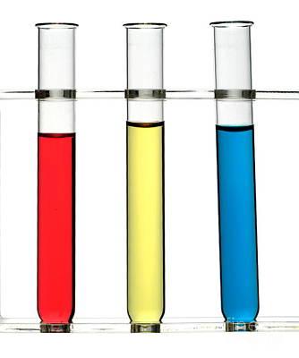 Acidity Indicator Colours Art Print