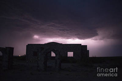Photograph - Acme Lightning by Shawn Naranjo