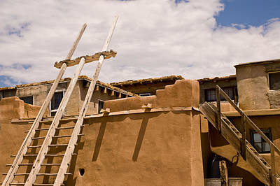 Acoma Building Art Print by James Gay