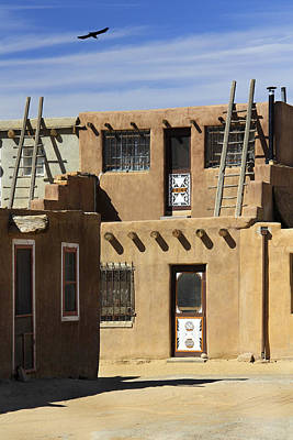 Acoma Pueblo Adobe Homes Art Print