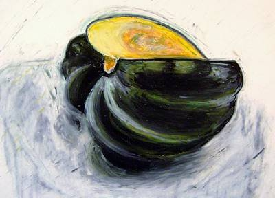 Pastel - Acorn Squash by Therese Legere