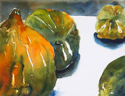 Painting - Acorn Squash by Tom Simmons