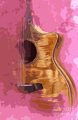 Acoustic Guitar 2 Art Print
