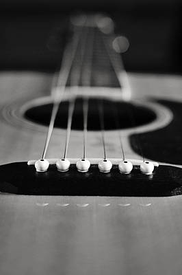 Photograph - Acoustic Guitar by Terry DeLuco