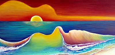 Acoustic Waves  Original by Sweet Colene Art