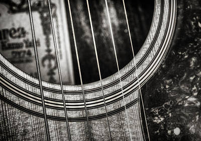 Black And White Photograph - Acoustically Speaking by Scott Norris