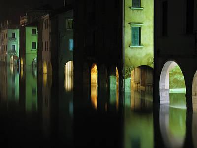 Acqua Alta Art Print by Mattia Oselladore