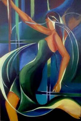 Painting - Acrelic Painting by Hihani Gautam