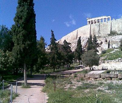Photograph - Acropolis 1 by Katerina Kostaki