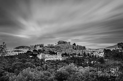Acropolis Of Athens Original by George Papapostolou