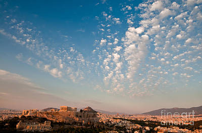 Athens Photograph - Acropolis Of Athens by Kim Pin Tan