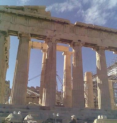 Photograph - Acropolis-parthenon by Katerina Kostaki