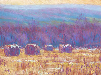 Across Dunn Valley Print by Michael Camp