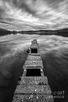 Boat Pier Photograph - Across by John Farnan