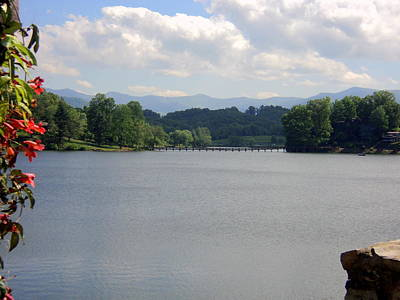 Photograph - Across Lake Junaluska by Paula Tohline Calhoun