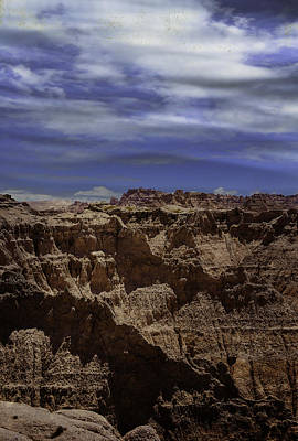 Photograph - Across The Badlands by Judy Hall-Folde