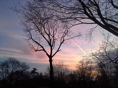 Mixed Media - Across The Blazing Sky by Brenda Chapman