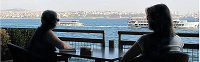 Photograph - Across The Bosphorus by Ian  MacDonald