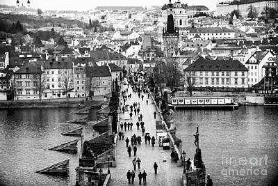 Photograph - Across The Charles Bridge by John Rizzuto