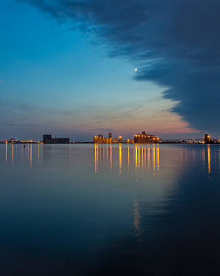 Photograph - Across The Duluth Harbor by John M Bailey