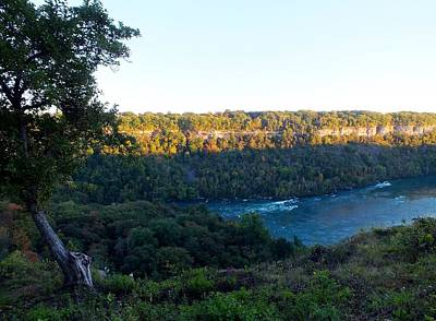Photograph - Across The Gorge At Sundown by Peggy King