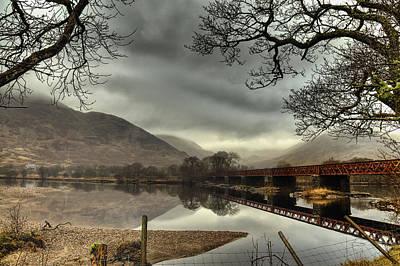 Photograph - Across The Loch by Jean-Noel Nicolas