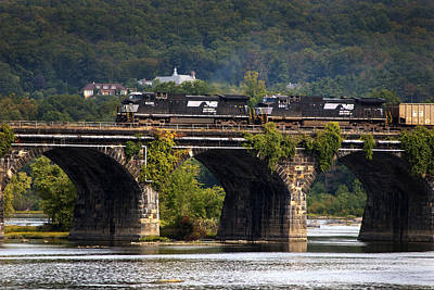 Susquehanna River Photograph - Across The Rockville by Paul W Faust -  Impressions of Light