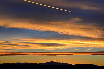 Photograph - Across The Sky by Clarice  Lakota