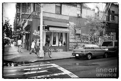 Photograph - Across The Street 1990s by John Rizzuto