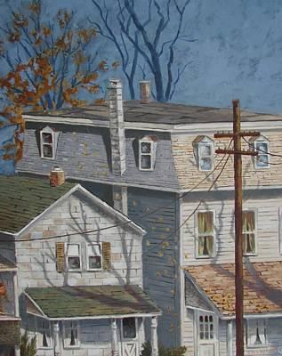 Painting - Across The Street by Tony Caviston