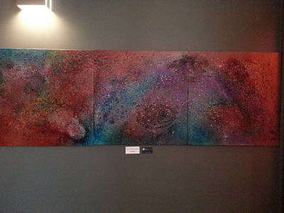 Cosmos Painting - Across The Universe by Angelina Vick