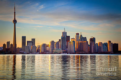 North America Photograph - Across The Water by Inge Johnsson
