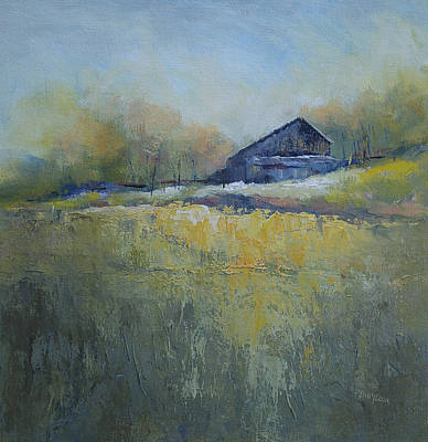 Painting - Across The Way by Bob Pennycook
