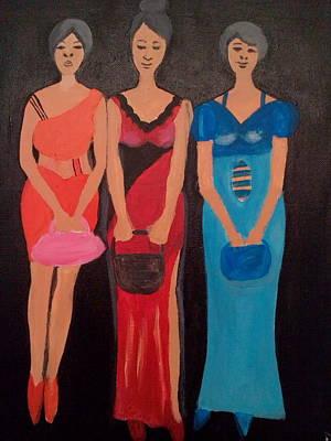 Acrylic Fashion  3 Original by Vivian IDOWU