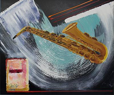 Painting - Acrylic Msc 036  by Mario Sergio Calzi