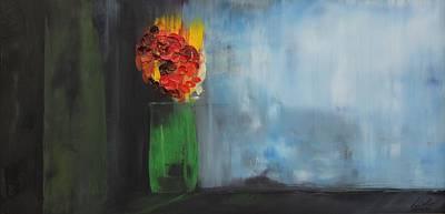 Painting - Acrylic Msc 060 by Mario Sergio Calzi