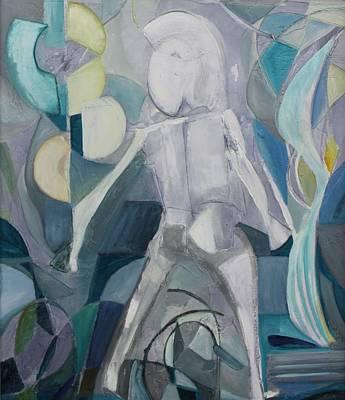 Painting - Acrylic Msc 072  by Mario Sergio Calzi
