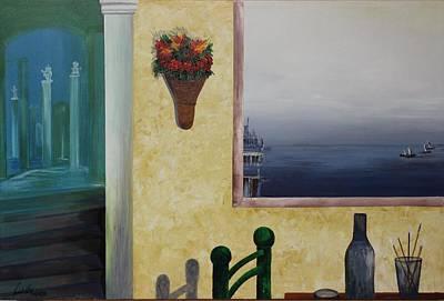 Painting - Acrylic Msc 075  by Mario Sergio Calzi