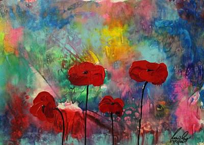 Painting - Acrylic Msc 078 by Mario Sergio Calzi