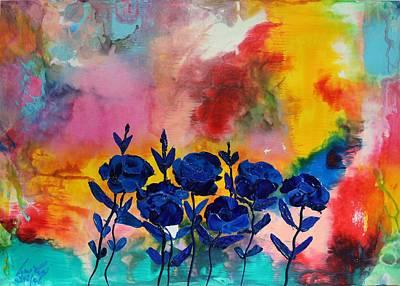 Painting - Acrylic Msc 080 by Mario Sergio Calzi